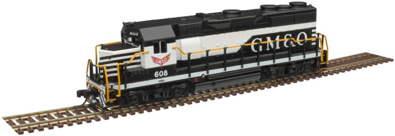 ATLAS 40004290 GP35 - GM&O Gulf Mobile & Ohio #608 - Gold - DCC & Sound (SCALE=N) Part # 150-40004290
