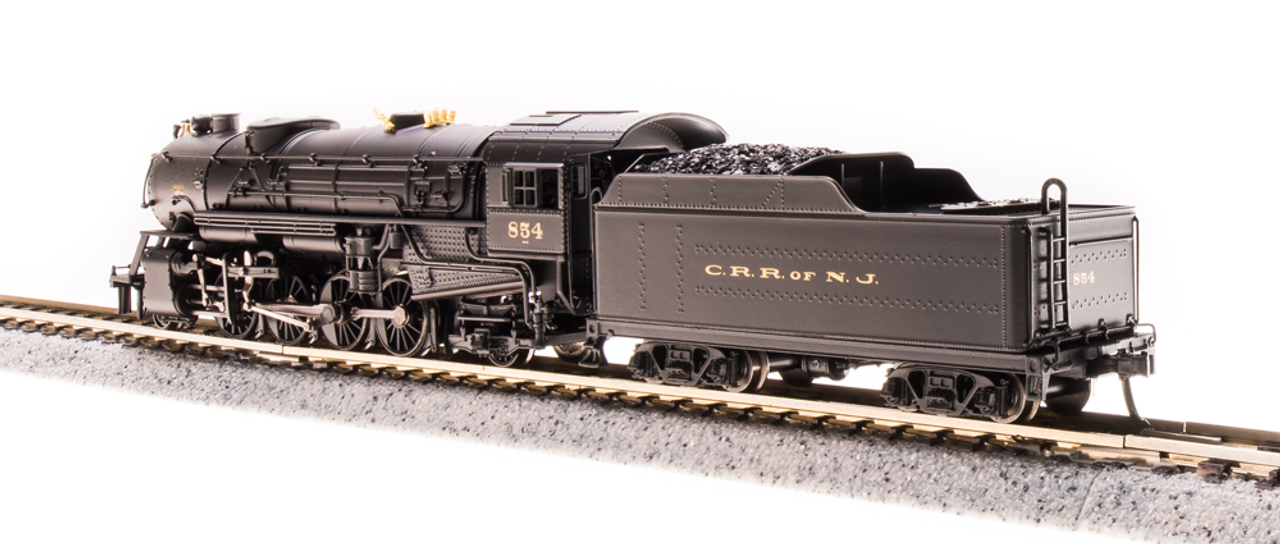 Broadway Limited {5952} 2-8-2 Heavy Mikado  CNJ - Jersey Central Lines #854 (Scale=N) Part#187-5952