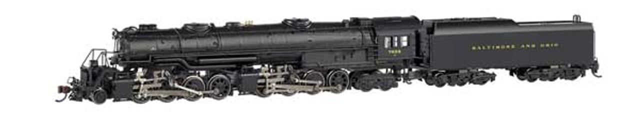 """Bachmann 80854 B&O  #7628 """"N"""" Scale  Class EM-1 2-8-8-4 Later Small Dome - Econami DCC Sound Value - Spectrum(R)  (Scale=N) Part#160-80854"""