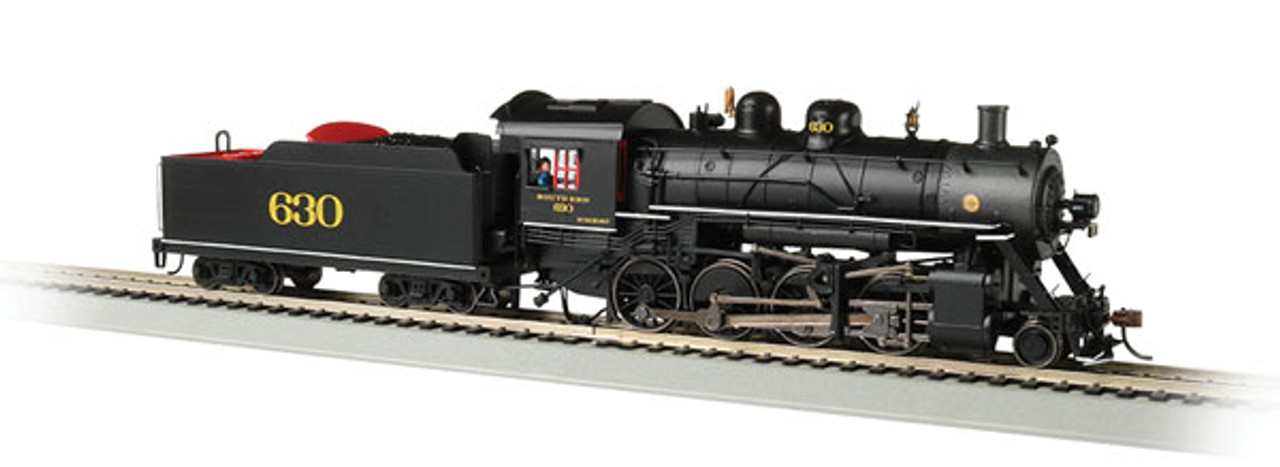 Bachmann 57901 Southern Railway 630 (black, graphite) 2-8-0 Steam  Consolidation -Sound Value Bachmann Industries (SCALE=HO) Part#=160-57901