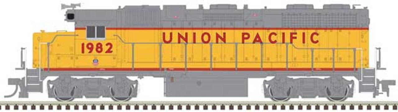 ATLAS 40004148 - GP38 - UP - Union Pacific  #1982 DCC & Sound (SCALE=N) Part # 150-40004148