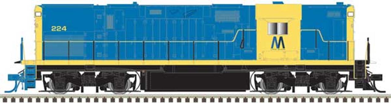 ATLAS 40004035 - C420 -  LI - Long Island  #224 DCC & Sound (SCALE=N) Part # 150-40004035