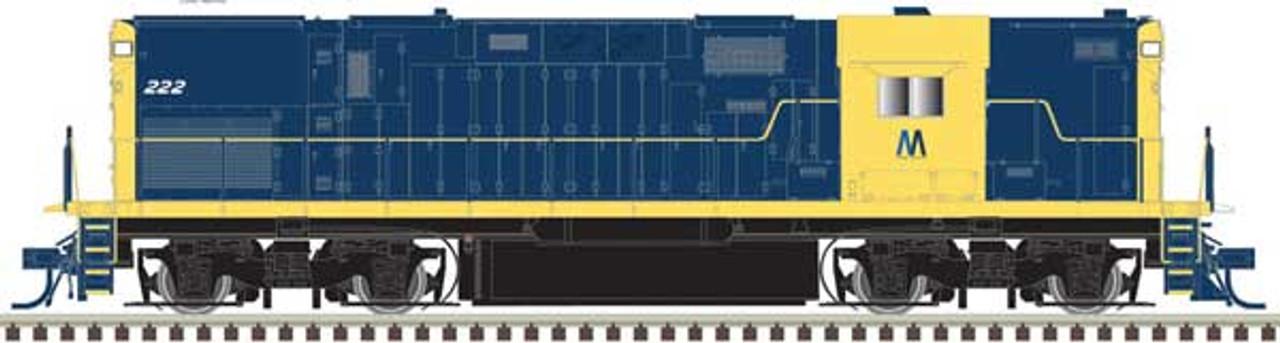 ATLAS 40004037 - C420 -  LI - Long Island  #222 DCC & Sound (SCALE=N) Part # 150-40004037