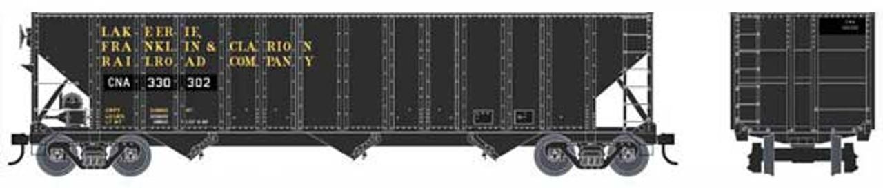Bowser 42165 - 100 Ton Hopper - CNA - Canadian National #330340 (Scale=HO) Part 6-42165