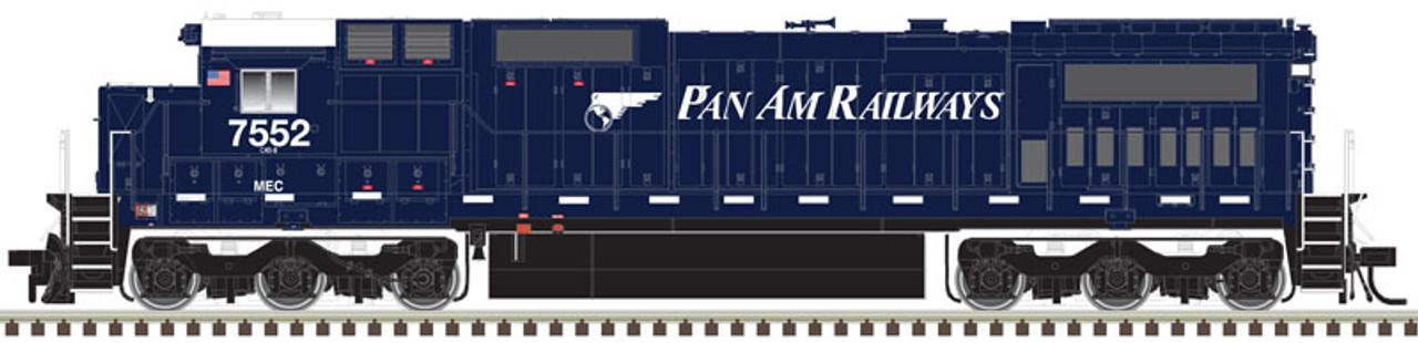 Atlas 10003130 GE Dash 8-40C - MEC - Pan Am Railways #7635 - DCC & Sound (Scale=HO) Part#150-10003130