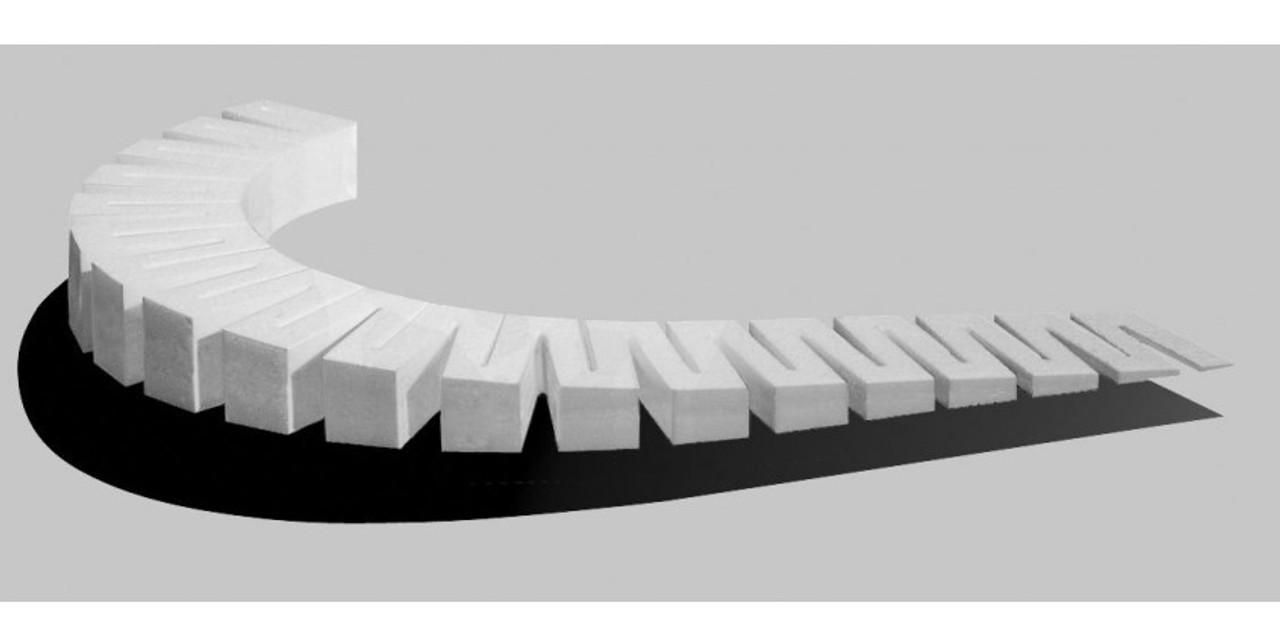 Woodland Scenics 1413 Incline Starter Set - SubTerrain System -- 4% A Scale