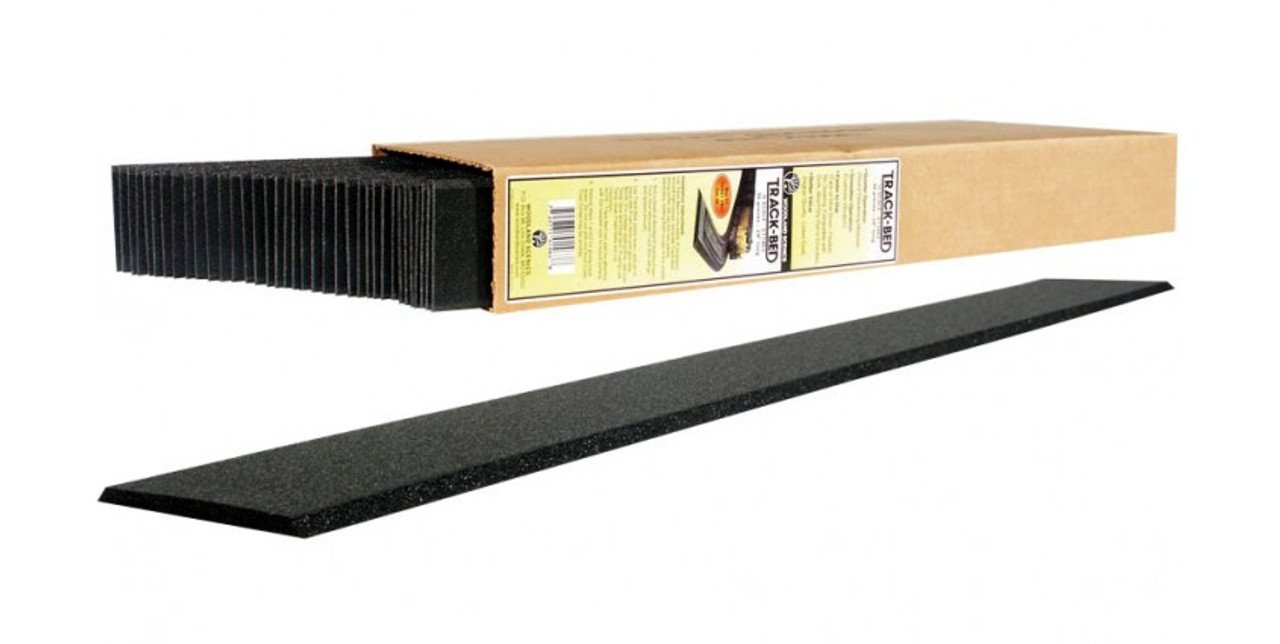 "Woodland Scenics 1463 Track-Bed Roadbed Material -- 3/16"" x 2'  5mm x .6m pkg(36) O Scale"