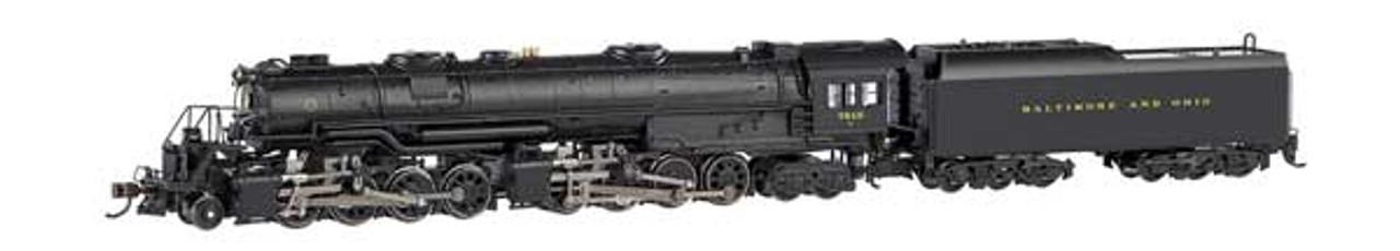 52405 Bachmann  Chesapeake & Ohio #2705 (black, graphite) (Scale=HO) Part # 160-52405