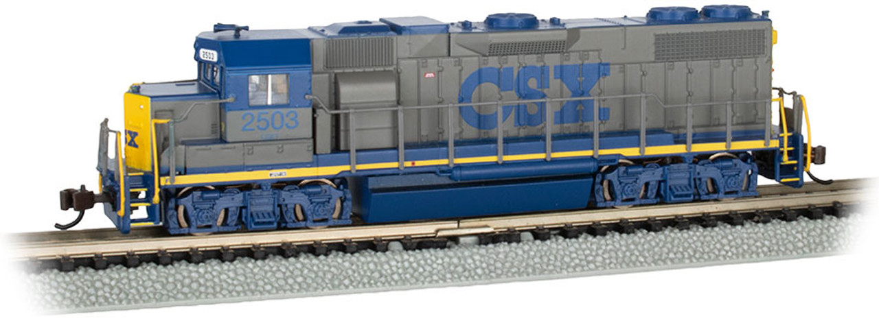 Bachmann 66852 EMD GP38-2 CSX # 2503 YN1 Scheme - DCC & Sound N Scale