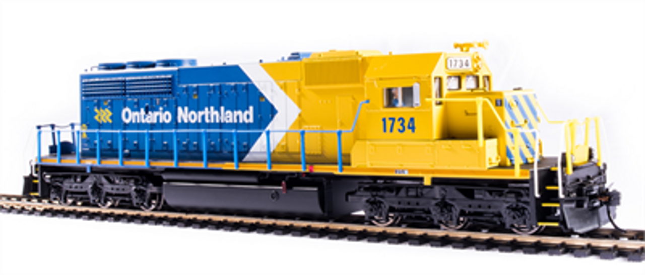 BLI 6789 SD40-2 ON - Ontario Northland #1734 Broadway Limited Paragon 4 w/Sound & DCC HO Scale