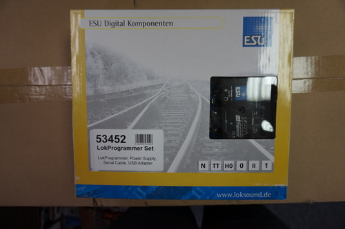 In Transit 53452 ESU LokSound (ALL-SCALES) ESU LokSound PROGRAMMER Part # 397-53452