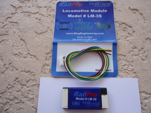 LM3-S Ring Engineering / RP Loco Module with Sound (Scale=ALL) YANKEEDABBLER Part # = 634-LM3-S