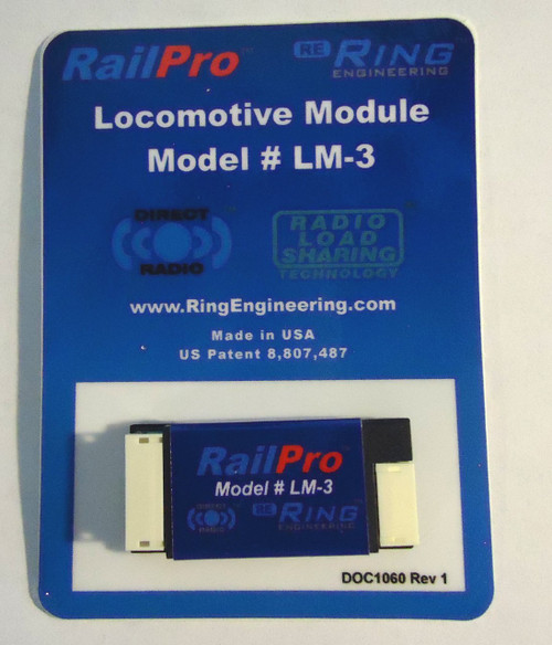 LM3 Ring Engineering / RailPro loco Mod without Sound (Scale=HO) YANKEEDABBLER Part # = 634-LM3