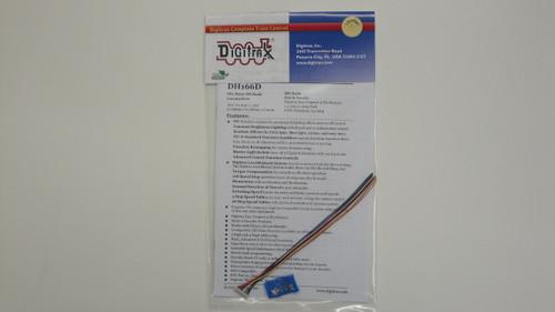 DH166D Digitrax / Premium Mobile Decoder S6  (Scale = HO)  Part # 245-DH166D