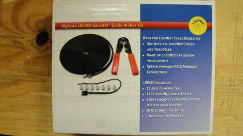 Digitrax LNCMK LocoNet Cable Marker Kit  (Scale = ALL)  Part # 245-LNCMK