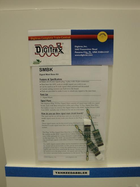 SMBK Digitrax / Signal Mass Base Kit 3/  (Scale = HO)  Part # 245-SMBK