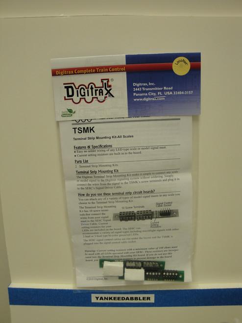 TSMK Digitrax / Trmnl Strip Mounting Kit  (Scale = HO)  Part # 245-TSMK
