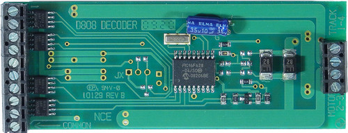 112 NCE /  Silent Running(TM) 8-Amp Decoder -- D8 (SCALE=G) Part # = 524-112 (SCALE=G)