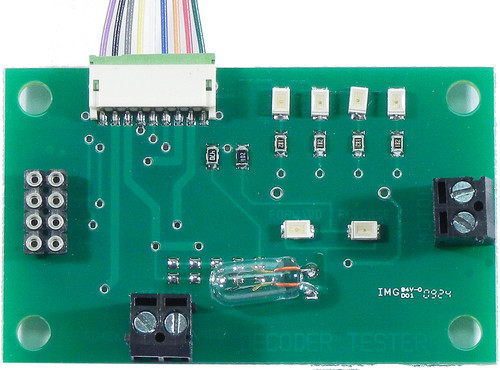 219 NCE /  Decoder Tester Kit -- 8- & 9-Pin Pl (SCALE=ALL) Part # = 524-219