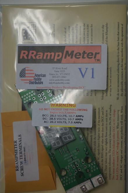 DCC SPECIALTIES 246-RRAMPMETER V1 RRampmeter circuit module (ALL Scales) 246-RRAMPMETERV1