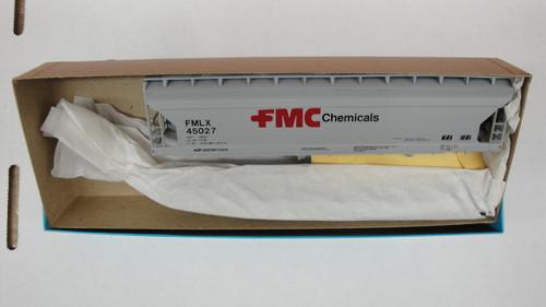 387-1 (HO SCALE) Bev-Bel-66-387-1 FMC Corporation Chemical 55  A.C.F. Center flow hopper FMLX 45027