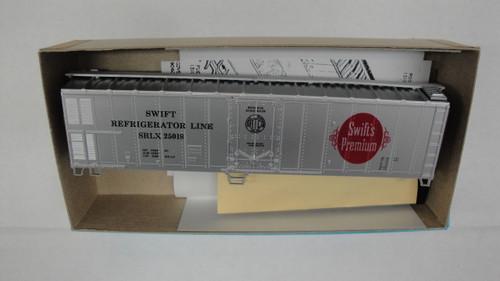 497-1 (HO SCALE) Bev-Bel-66-497-1 Swift Refrigerator Line 50  Mechanical Reefer SRLX 25018