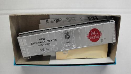 497-2 (HO SCALE) Bev-Bel-66-497-2 Swift Refrigerator Line 50  Mechanical Reefer SRLX 25031