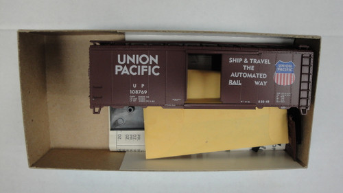 1038-1 (HO SCALE) Bev-Bel-66-1038-1 Union Pacific 40  Boxcar UP 108769