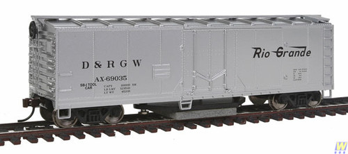 1482 (HO Scale) WAL-931-1482        Track Cleaning Car DRGW