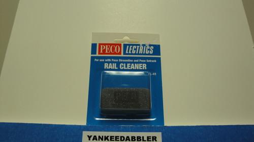 PL-41 Peco / PL-41 Abrasive Rubber Rail Cleaning Block (SCALE=ALL ) Part # PCO-PL-41