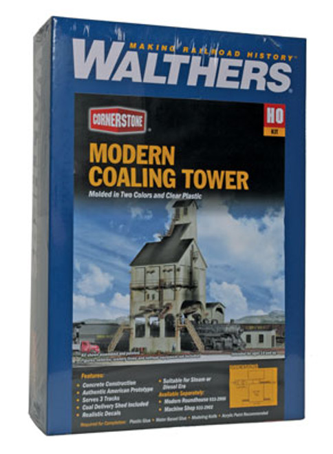 2903 Walthers Modern Coaling Tower (Scale=HO) Cornerstone Part#933-2903