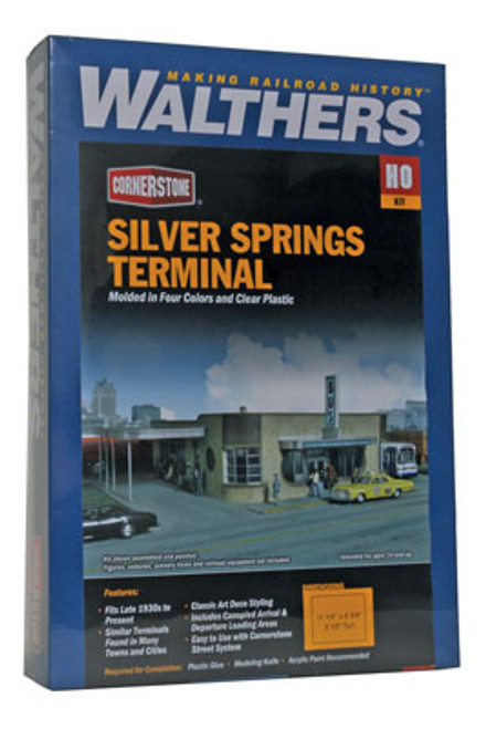 2934 Walthers  Silver Springs Terminal (Scale=HO) Cornerstone Part#933-2934