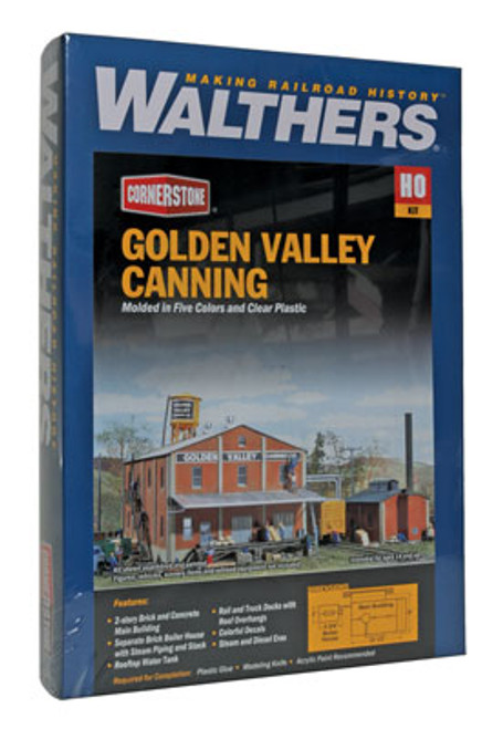 3018 Walthers Golden Valley Canning Co. (Scale=HO) Cornerstone Part#933-3018