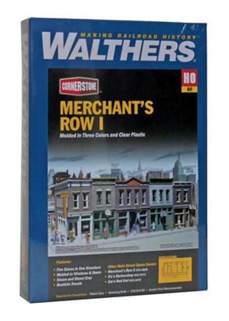 3028 Walthers Merchant's Row I (Scale=HO) Cornerstone Part#933-3028