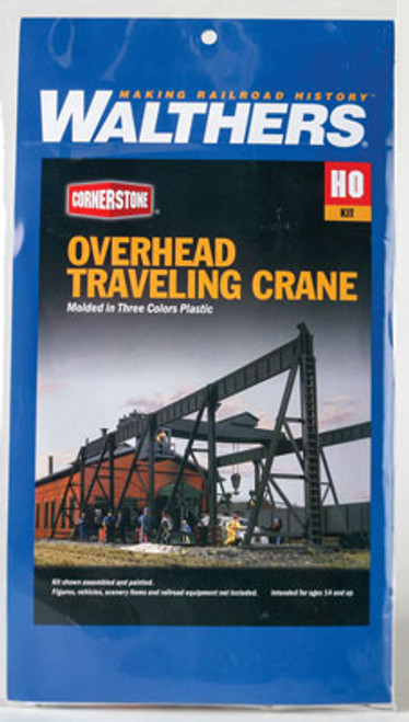 3102 Walthers Overhead traveling crane (Scale=HO) Cornerstone Part#933-3102