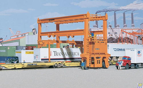 3122 Walthers MI-JACK Translift(R) Intermodal Crane (Scale=HO) Cornerstone Part#933-3122