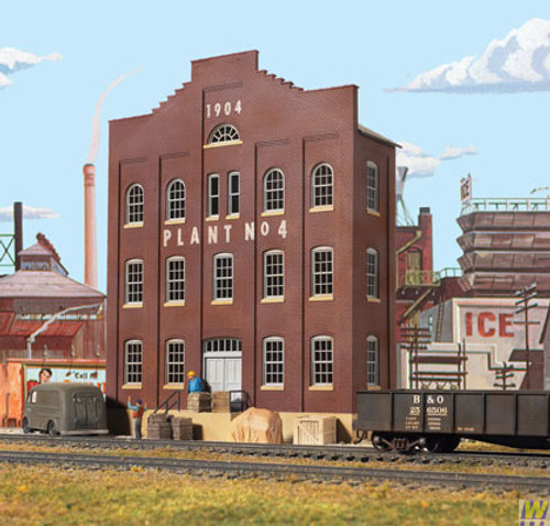 3183 (HO Scale) WAL-933-3183        Plant #4 Building Front