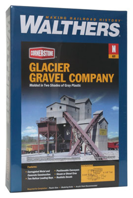 3241 Walthers Glacier Gravel Co. (N Scale) Cornerstone Part# 933-3241