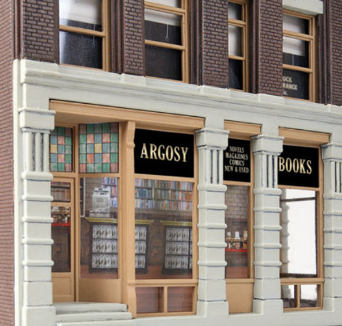 3466 Walthers Argosy Booksellers (Scale=HO) Cornerstone Part#933-3466