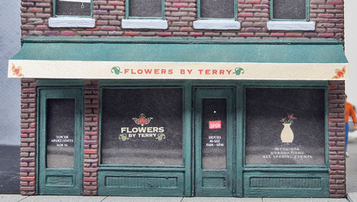 3473 Walthers Flowers By Terry (Scale=HO) Cornerstone Part#933-3473