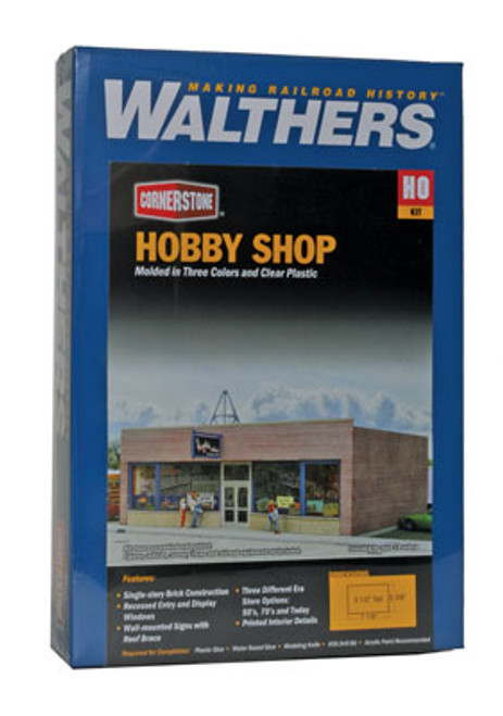 3475 Walthers Hobby Shop (Scale=HO) Cornerstone Part#933-3475