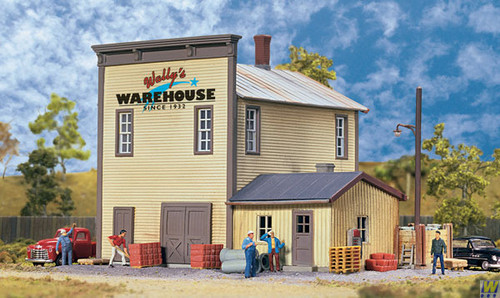 Walthers 933-3654 Wally's Warehouse  (Scale=HO) Cornerstone Part#933-3654