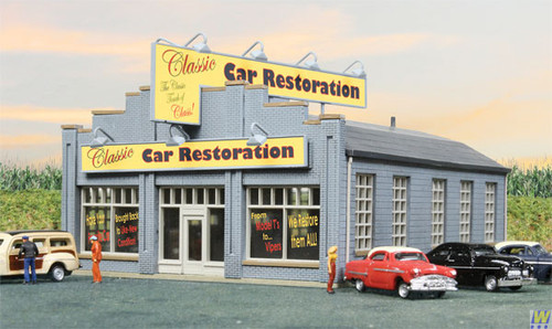 Walthers 933-3824-CLASSIC-CAR-RESTORATION  (Scale=HO) Cornerstone Part#933-3824