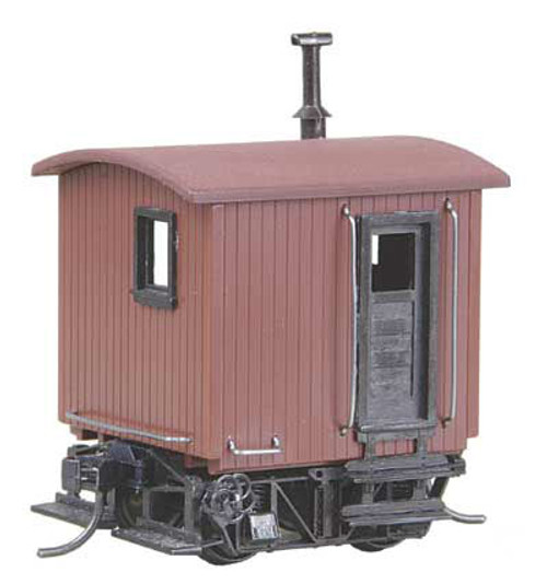 104 Kadee / Caboose Industrial Kt Red  (HO Scale) Part # 380-104