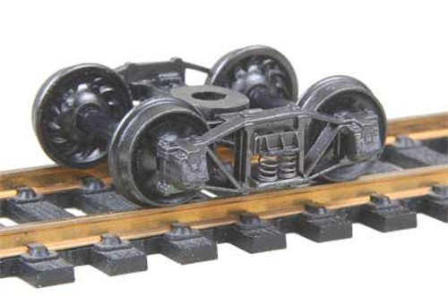 501 Kadee / Arch Bar Trucks Metal Fully Sprung Equalized Trucks 1 pair /  (HO Scale) Part # 380-501