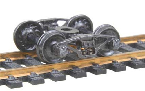 517 Kadee / Pennsylvania 2D-F8 50-Ton Trucks Metal Fully Sprung Equalized Trucks 1 pair /  (HO Scale) Part # 380-517
