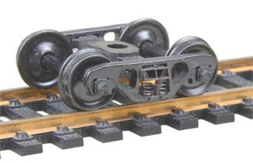 518 Kadee / Barber S-2 70-Ton Trucks Metal Fully Sprung Equalized Trucks 1 pair  (HO Scale) Part # 380-518