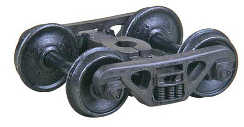 "569 Kadee / A.S.F.® 100-ton Roller Bearing Trucks ""HGC"" Two Piece Fully Equalized Self Centering Trucks 1 Pair (HO Scale) Part # 380-569"