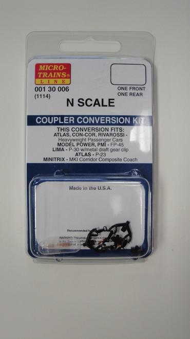 130006 MICRO TRAINS / {001 30 006} COUPLER CONVERSION KIT (1114)  (SCALE=N)    - YANKEEDABBLER  PART #  = 489-130006