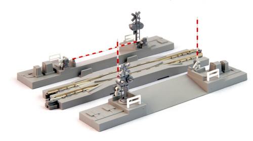 "Kato 20092 N Gauge Unitrack Track Assortment Set B 1-1//2/"" 1-5//16/"" 38mm, 33mm ."